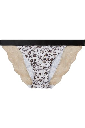 Women Hipsters - Women's Artisanal Black Cotton Your Own Wow Effect Classic Briefs Large yown