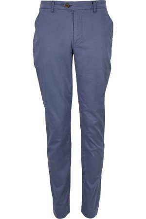Men Chinos - Men's Blue Cotton Jack Lux Delft Pant 30in Lords of Harlech