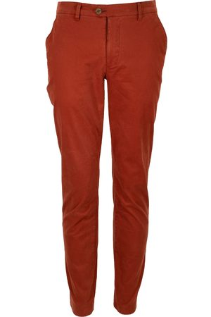 Men Chinos - Men's Red Cotton Jack Lux Blush Pant 38in Lords of Harlech