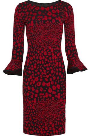 Women's Red Fabric Maria Dress Large Nadya Toto