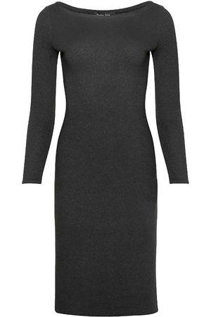 Women's Black Fabric Denver Dress Medium Nadya Toto