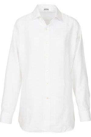 Artisanal White Linen Mens Classic In Medium Antra Designs
