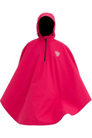 Women Ponchos & Capes - Women's Low-Impact Pink Fabric Mr. Rover XL CLEVERHOOD
