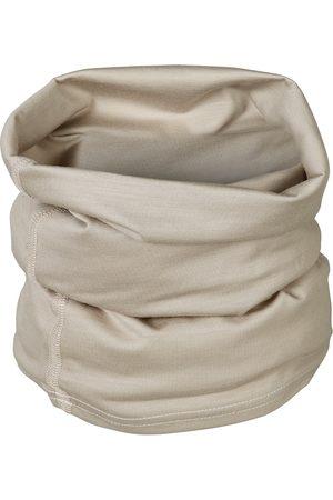 Organic Natural Wool Men's 100% Traceable Ultrafine Merino Snood Loop Stone Scarf Large Smalls Merino
