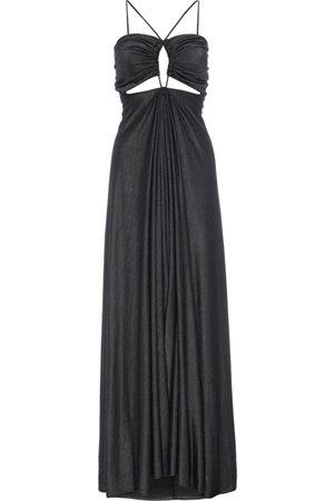 Women Casual Dresses - Women's Artisanal Grey Cotton Sundis Gunmetal Sweater Dress XS LAHIVE