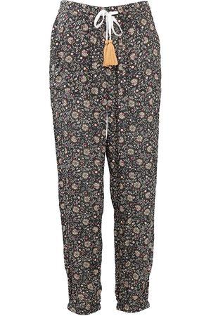 Women Pajamas - Women's Low-Impact Natural Cotton Indie Pyjama Bottoms Medium Wallace Cotton