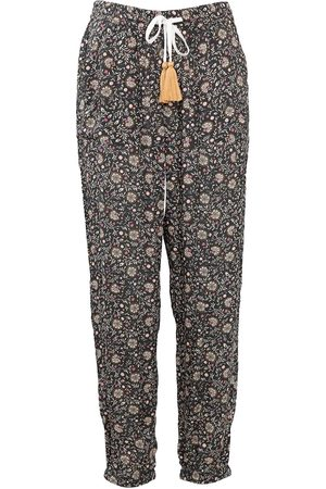 Women Pajamas - Women's Low-Impact Natural Cotton Indie Pyjama Bottoms Small Wallace Cotton