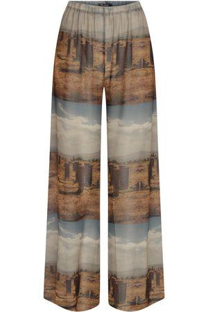 Women's Artisanal Historic Moments Pyjama Pants Medium kith & kin