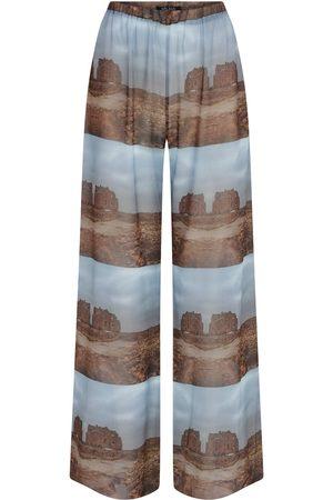 Women Pajamas - Women's Artisanal Somewhere In Nature Print Pyjama Medium kith & kin