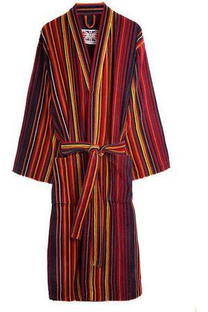 Cotton Men's Dressing Gown - Regent Large Bown Of London