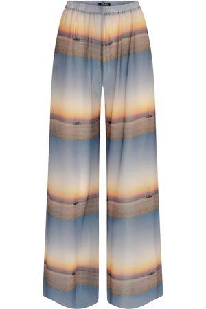 Women Pajamas - Women's Artisanal Sailing Time Pyjama Pants Medium kith & kin