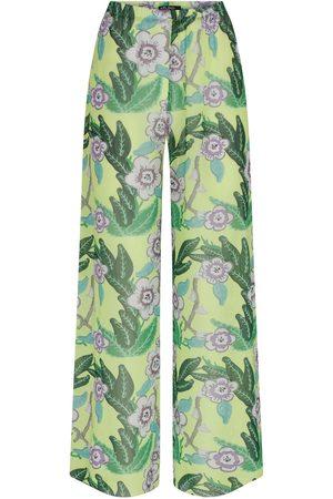 Women Pajamas - Women's Artisanal Signature Print Floral Pyjama Pants Medium kith & kin