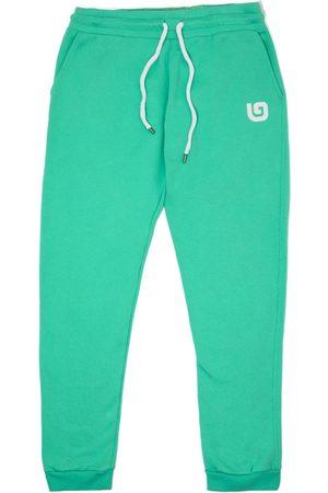 Men Sweatpants - Organic Green Cotton Men's Rafiki G Joggers Large That Gorilla Brand