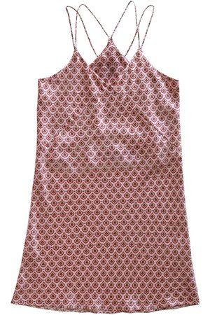 Women Sweats - Women's Pink Silk Cassia Nighty Large Emma Wallace
