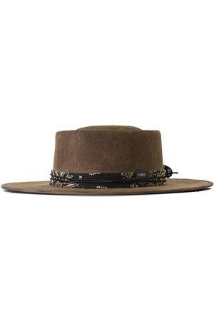 Men Hats - Men's Brown Cotton Srv Tobacco Relic Hat - Cigar Relic 57cm Other