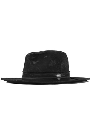 Men's Black Wool The Nomad Fedora - Relic 57cm Other