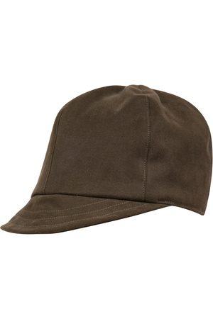 Men's Artisanal Olive Cotton The Cap - Cap LaneFortyfive