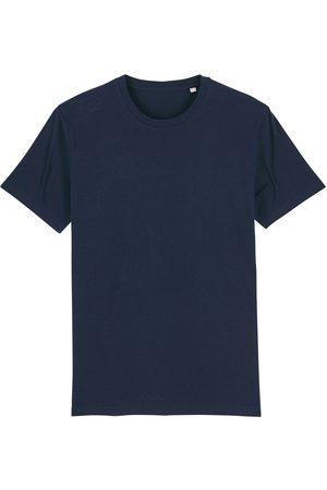 Men Boxer Shorts - Organic Navy Cotton Men's T-Shirt Large British Boxers