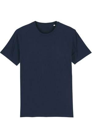 Organic Navy Cotton Men's T-Shirt Medium British Boxers