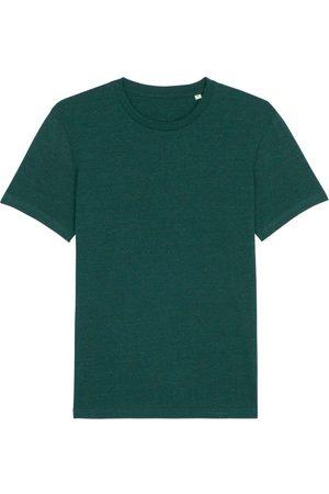 Organic Green Cotton Men's Forest Marl T-Shirt Large British Boxers