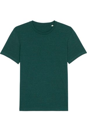 Organic Green Cotton Men's Forest Marl T-Shirt Small British Boxers