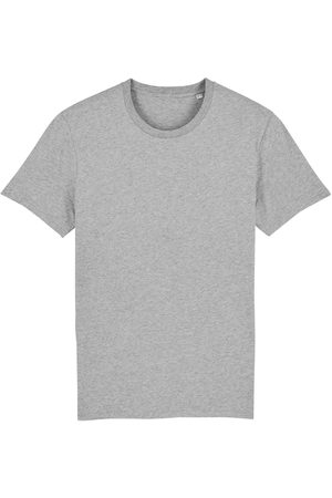 Organic Grey Cotton Men's Marl T-Shirt Small British Boxers