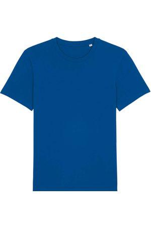 Men Boxer Shorts - Organic Blue Cotton Men's Majorelle T-Shirt Large British Boxers