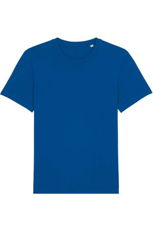 Men Boxer Shorts - Organic Blue Cotton Men's Majorelle T-Shirt Medium British Boxers
