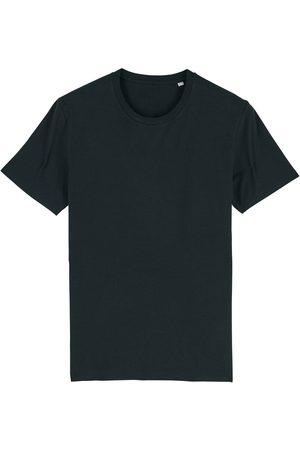Men Boxer Shorts - Organic Black Cotton Men's T-Shirt Medium British Boxers