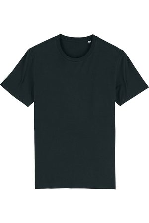 Organic Black Cotton Men's T-Shirt Large British Boxers