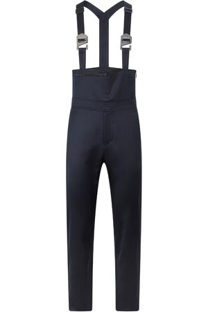Men's Artisanal Blue Wool Overall 34in SAINT E
