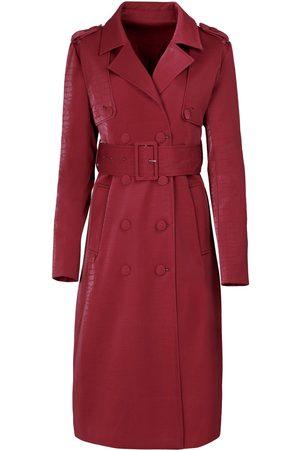 Women's Red Velvet The Sloane Trench XL Hilary MacMillan