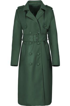 Women's Green Fabric The Eve Trench Medium Hilary MacMillan