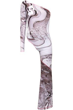 Women Jumpsuits - Women's Grey Pop Jumpsuit Large Paloma Lira