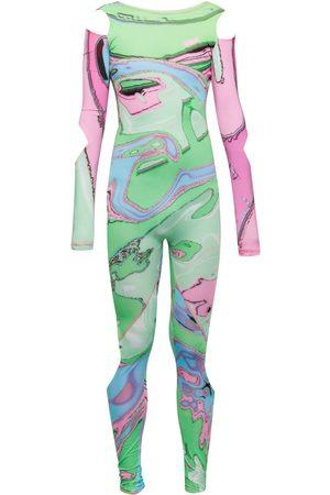 Women's Pink Wonder Woman Jumpsuit XL Paloma Lira