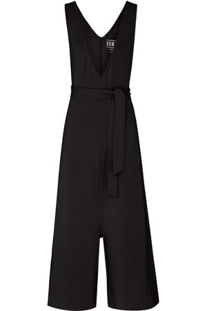 Women Jumpsuits - Women's Recycled Black Modal Mollie Jumpsuit Small KOMODO