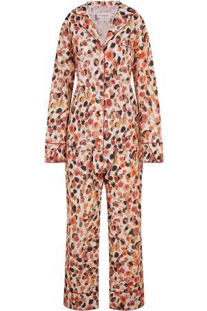 Women Sweats - Women's Cotton Dot Long Set - 100% Organic XS Moon + Mellow
