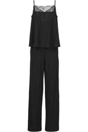 Women Sweats - Women's Black Wool Malia Merino Loungewear Set Medium Ethereal London
