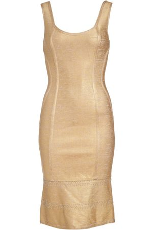 Women Bodycon Dresses - Women's Artisanal Gold Kari Bodycon Dress Small NARCES