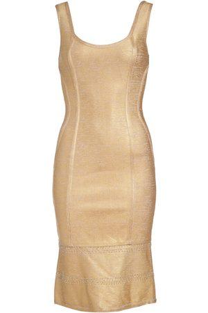 Women's Artisanal Gold Kari Bodycon Dress XL NARCES