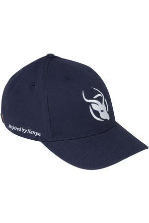 Men's Low-Impact Turquoise Cotton Navy Cap - Kikoy Peak KOY Clothing