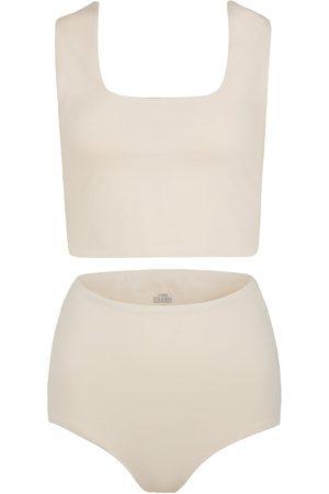 Women's Artisanal Natural Cotton Aura Matching Set Medium GUARDI