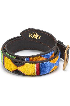 Men Belts - Men's Low-Impact Brass Beaded Belt - Jua 34in KOY Clothing