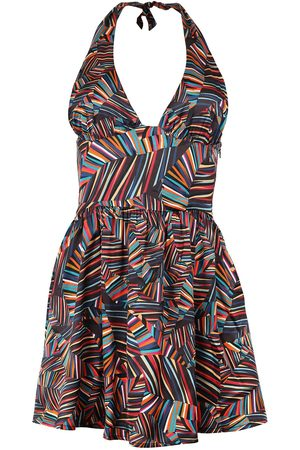 Women's Recycled Fabric Beach Dress In colour Medium blonde gone rogue