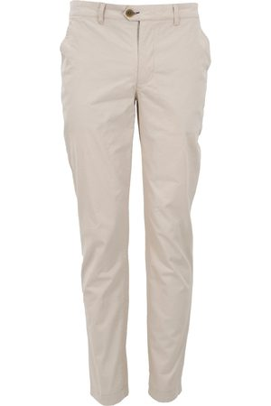 Men Chinos - Men's Natural Cotton Jack Lux Chino - Pumice 35in Lords of Harlech