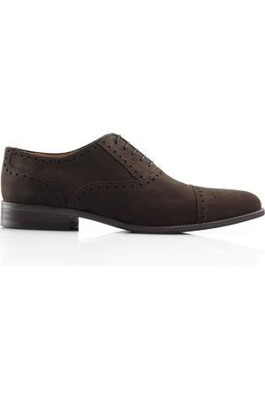 Men's Brown Leather The Houghton - Chocolate Shoes 8 UK Fairfax & Favor