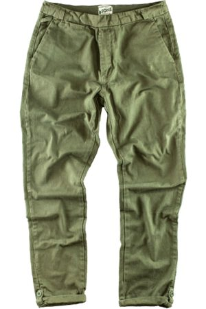 Men's Green Brass & sons Virgil Chinos Army 40in & SONS Trading Co
