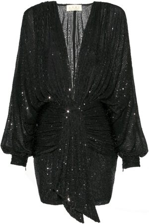 Women's Black Modal Kaia Raven Dress XS Aggi