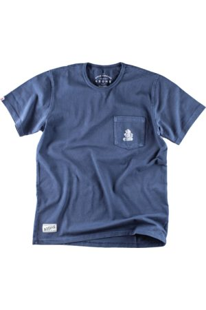Men's Navy & sons Boxer Pocket T-Shirt Small & SONS Trading Co