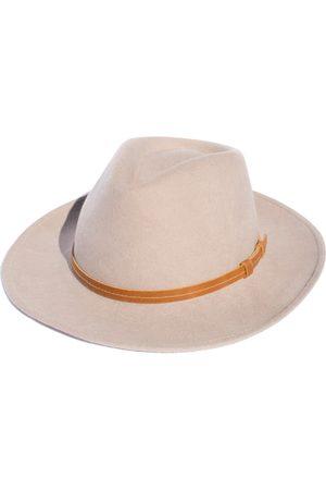 Men's Artisanal Beige Cotton Rancher - Festival Style Fine Wool Hat Small Elegancia Tropical Hats